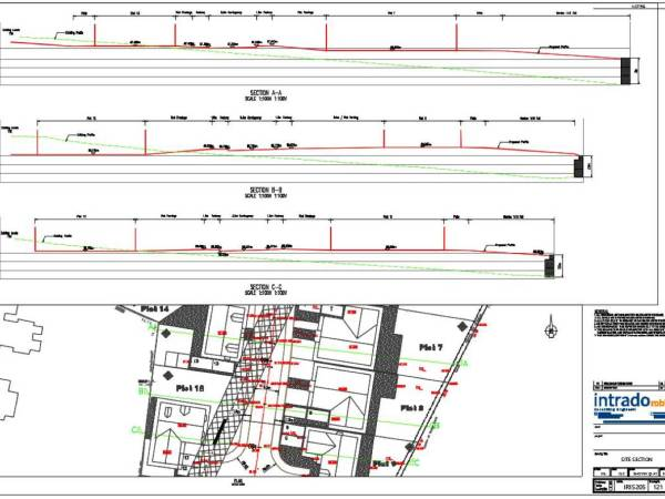 Intrado-Robbins-Consulting-Engineers-Civil-Engineering-Earthworks Cross Sections