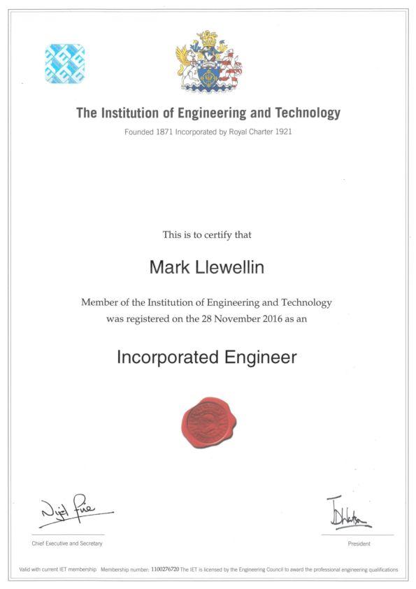 IET IEng_Intrado_Mark Llewellin