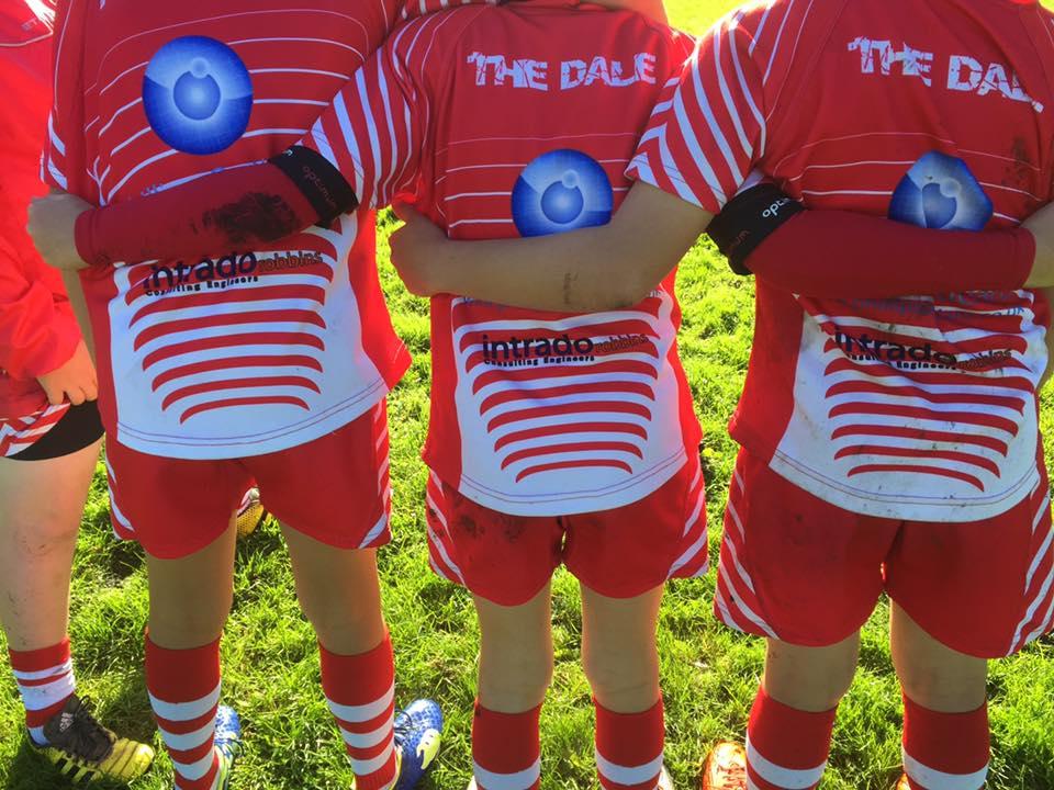 Intrado Oakdale mini rugby sponsorship kit 1